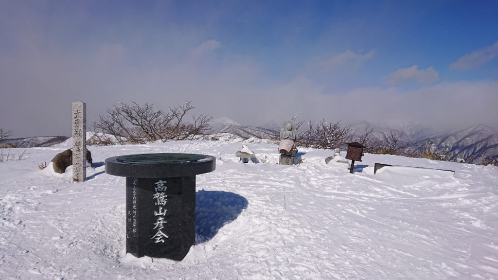 岐阜・大日ヶ岳山頂